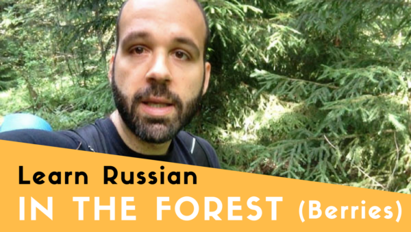 Berries in Russian - Learn Russian in the Forest